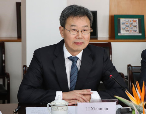 Visit to Zhejiang University of Technology: prof. LI Xiaonian (President ZJUT)