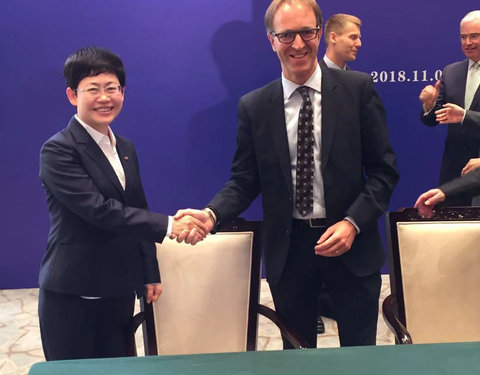 Ondertekening MoU tussen TechTransfer Zhejiang University en TechTransfer UGent