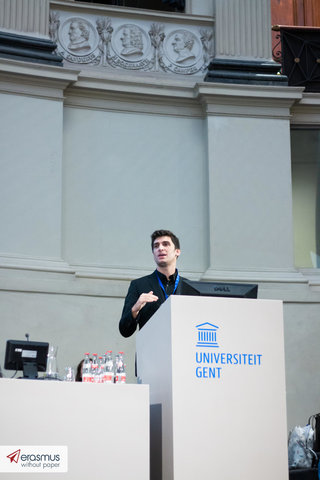 Lanceringsconferentie van 'Erasmus without Paper' project in Gent