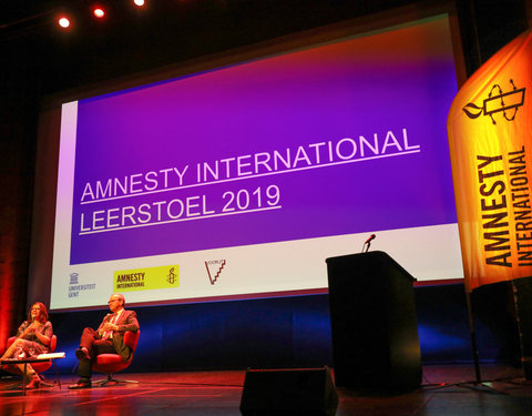 Leerstoel Amnesty International 2019