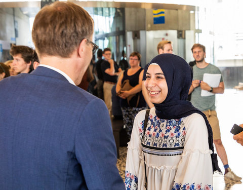 Meryem Akdeniz is eerste studente in Gent