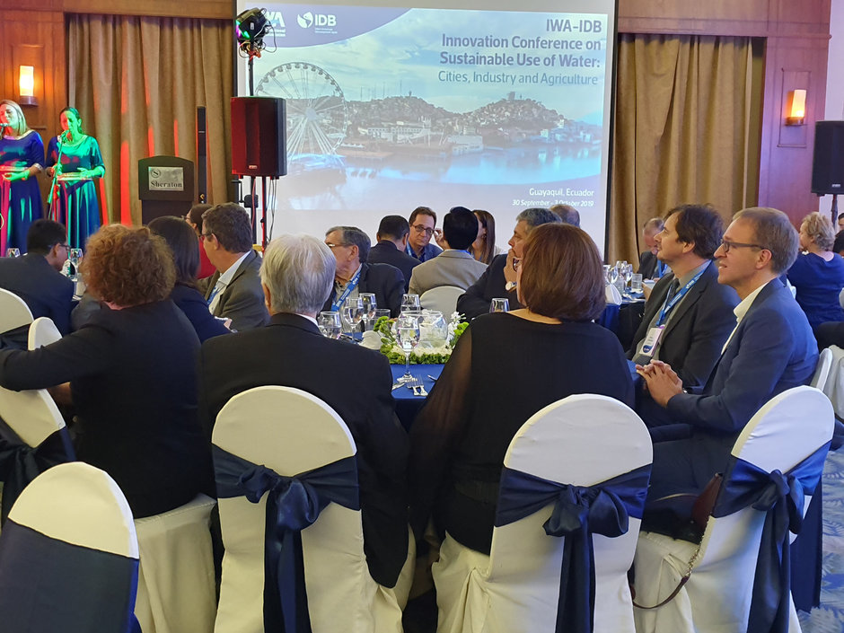IWA-IDB Innovation Conference on Sustainable Use of Water: Cities, Industry and Architecture