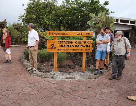 Bezoek Charles Darwin Research Station