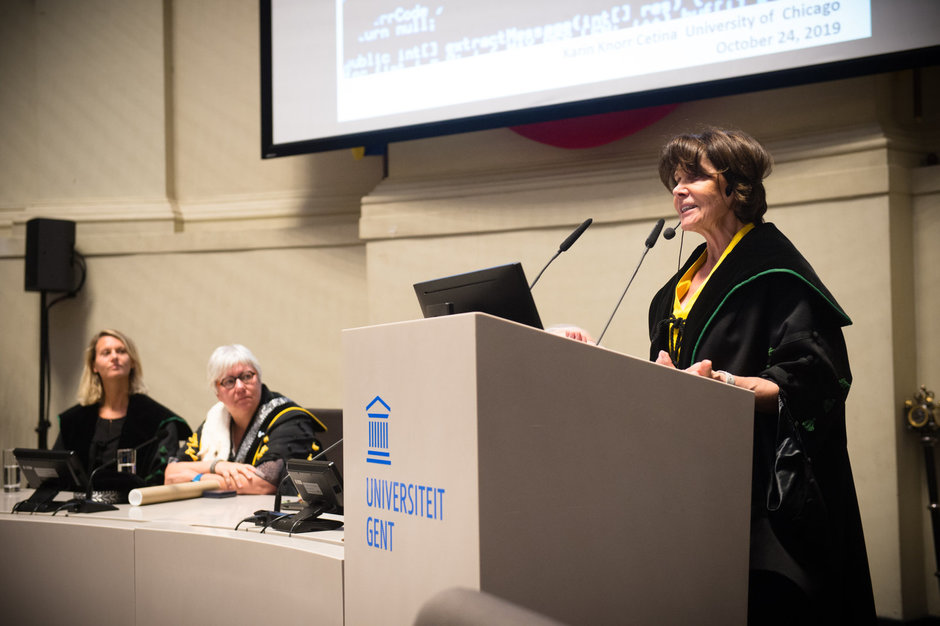 Prof. Karin Knorr Cetina (The University of Chicago)