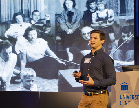Pitch door masterstudent Communicatiewetenschappen Martijn Clarysse
