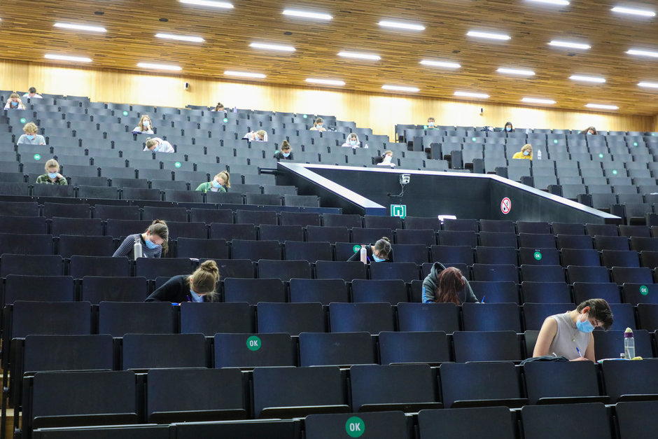 On campus examen in het Ufo