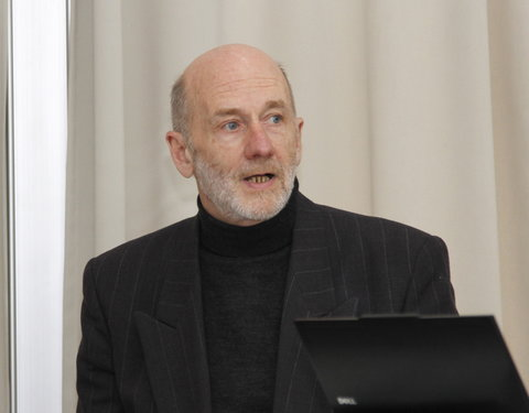Prof. André Van Calster, voorzitter Center for Microsystems Technology (CMST)