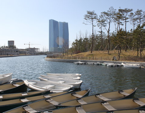 Tweedaags UGent symposium in Songdo (Zuid-Korea), ter voorbereiding van de opening van 'Ghent University Global Campus' in de In