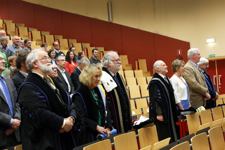 Uitreiking institutioneel eredoctoraat in Plantentuin-28102