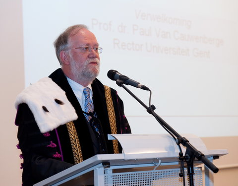 Verwelkoming door prof. Paul Van Cauwenberge, rector UGent