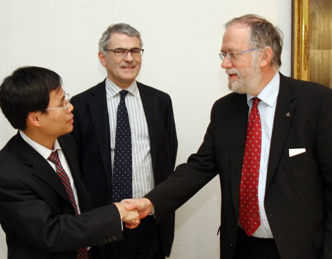 Samenwerkingsakkoord met East China University of Science and Technology, Shanghai