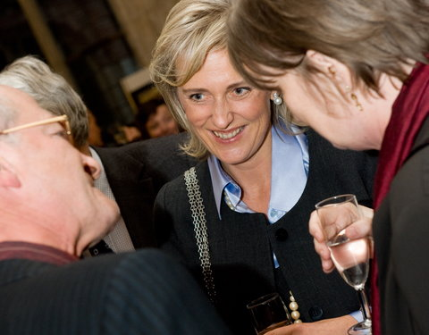 Bezoek Prinses Astrid aan het International Centre for Reproductive Health (ICRH)