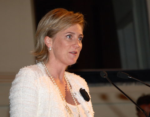 Prinses Astrid opent congres 'European Association of Plastic Surgeons'