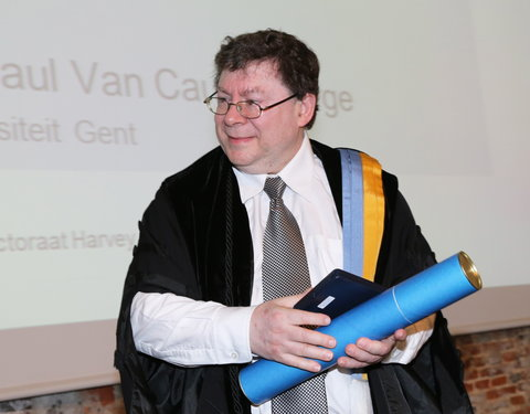 Uitreiking institutioneel eredoctoraat aan Harvey Friedman