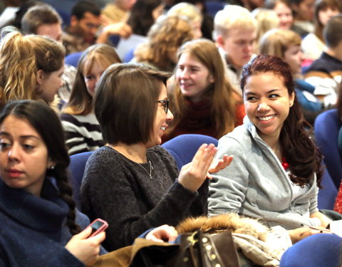 Welcome day 2014 voor nieuwe internationale studenten