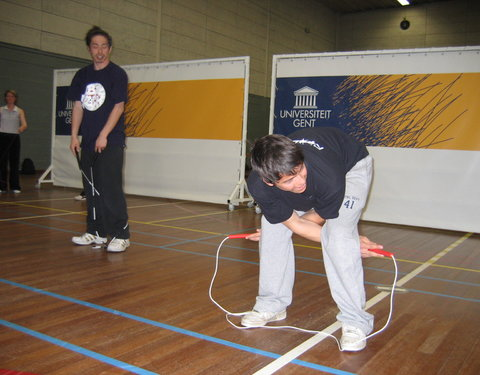 Rope-skipping