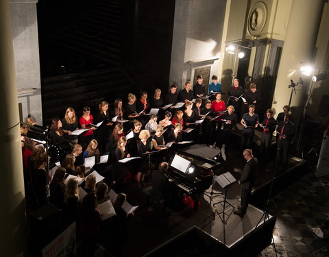 Concert Gents Universitair Koor: Thousand Voices for Peace: Gent ontmoet Ierland-46815