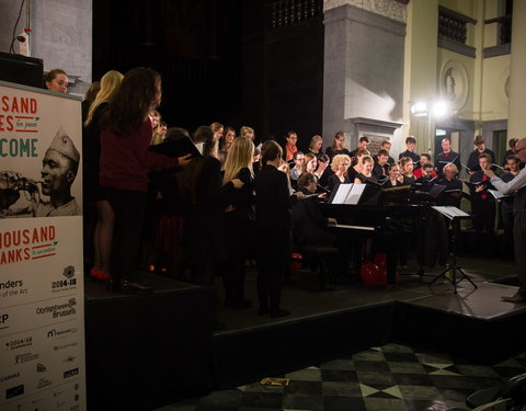 Concert Gents Universitair Koor: Thousand Voices for Peace: Gent ontmoet Ierland-46829