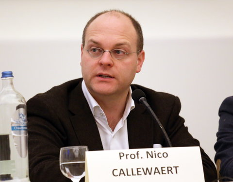 Prof. Nico Callewaert (VIB Department of Medical Protein Research)