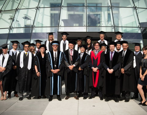 Proclamatie International Master of Science in Fire Safety Engineering (IMSFE)
