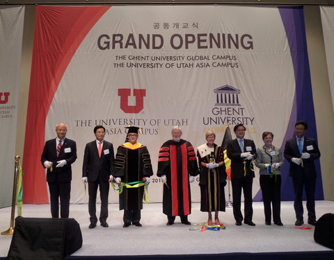 Opening eerste academiejaar Ghent University Global Campus in Korea-54258