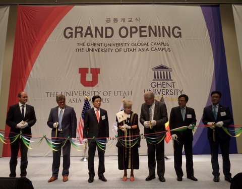 Opening eerste academiejaar Global Campus Korea
