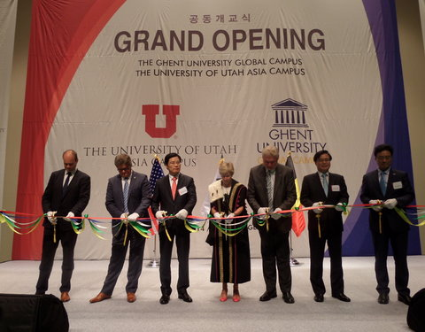 Opening eerste academiejaar Ghent University Global Campus in Korea-54261