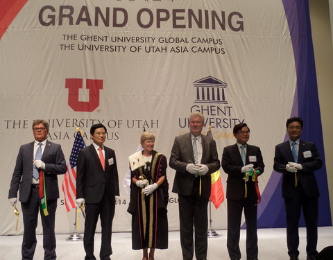 Opening eerste academiejaar Ghent University Global Campus in Korea-54262