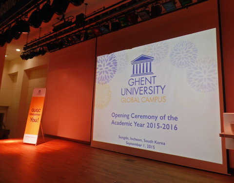 Opening academiejaar 2015/2016 Ghent University Global Campus in Korea-54337