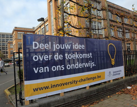 Baches Innoversity Challenge in Gentse straatbeeld