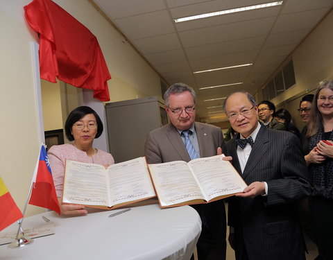 Opening Taiwan Resource Center for Chinese Studies