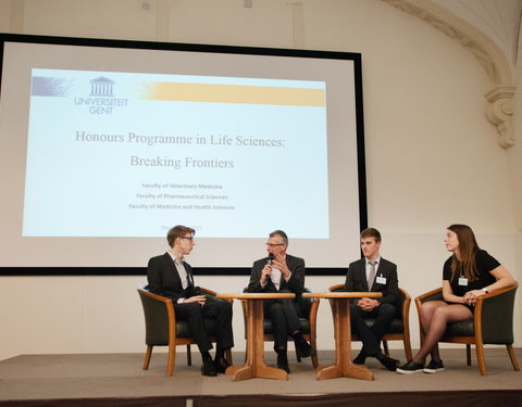 Proclamatie 'Honours Programme in Life Sciences: Breaking Frontiers'