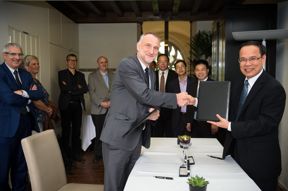 Ondertekening akkoord South China University of Technology-65296