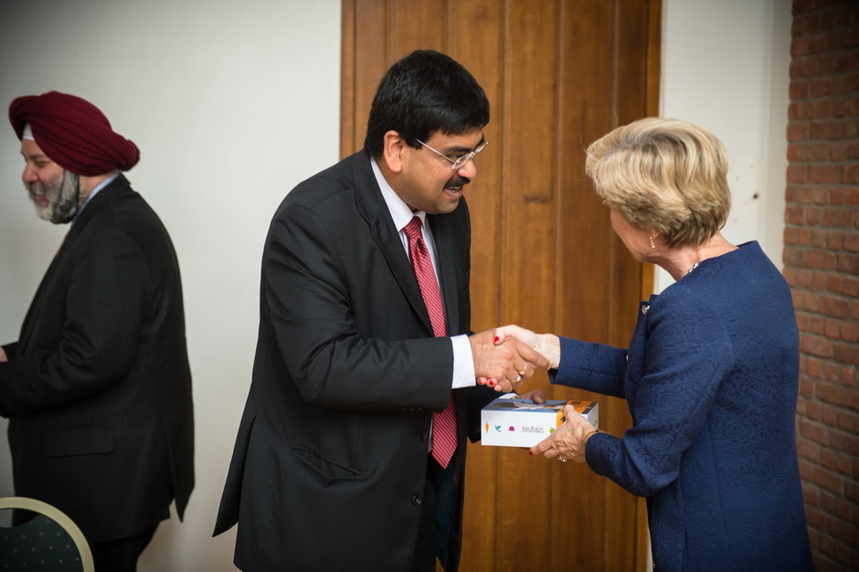 Meeting met de ambassadeur van India-65552