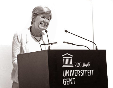 Prof. Anne De Paepe (rector UGent)
