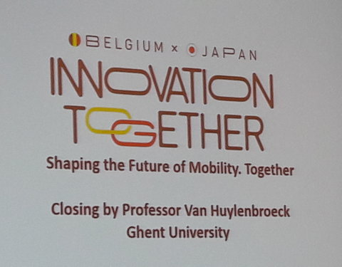 Workshop: 'Belgium x Japan. Shaping the future of Mobility. Together'