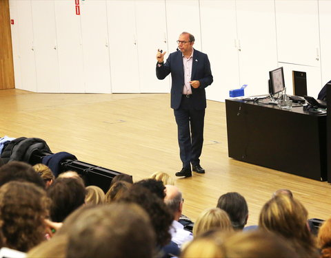 Gastcollege door prof. Peter Piot: 'Are we prepared for the next epidemic?'