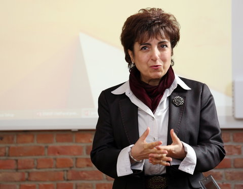 Prof. Victoria Sarafian (Vice-Rector Medical University of Plovdiv)