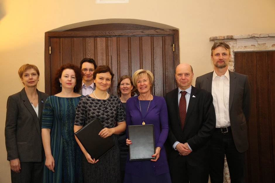 Ondertekening MoU met Higher school of Economics (Rusland)