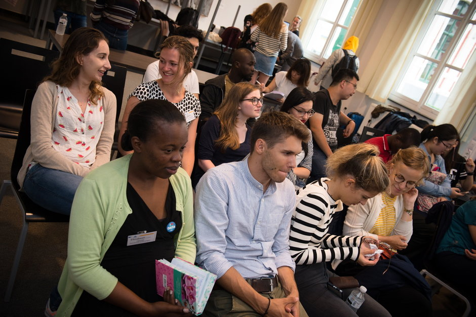 Overhandiging certificaten Summer School 'Health & Migration 2017'