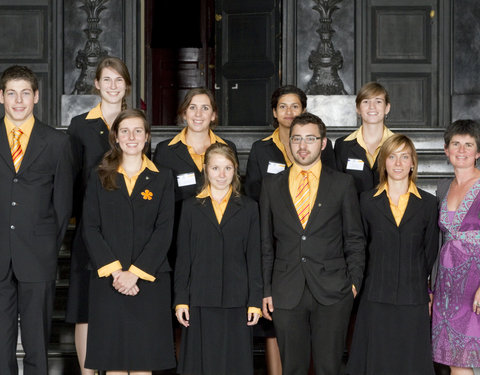 Hostesses en hosts UGent 2011