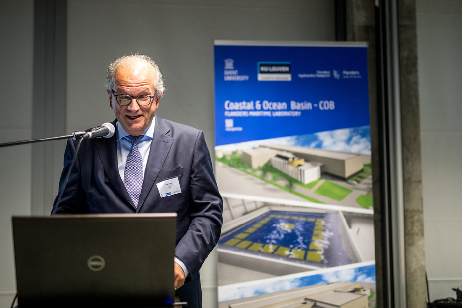 Inauguratie Coastal and Ocean Basin (COB)