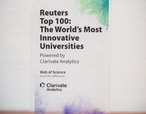 Reuters Top 100 Trophy: The World's Most Innovative Universities