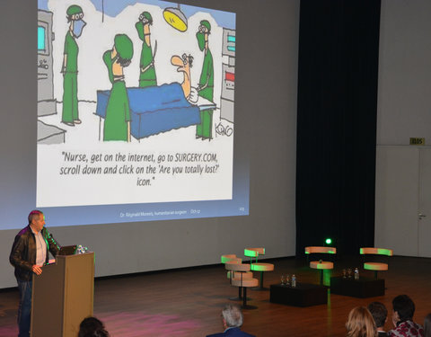 International Day faculteit Geneeskunde en Gezondheidswetenschappen: 'Health Sciences Crossing Borders'