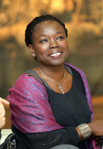 Fatou Diome (eredoctor UGent)