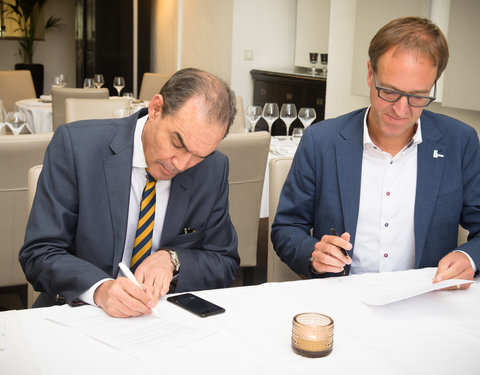 Ondertekening samenwerkingsovereenkomst University of the Western Cape (Zuid-Afrika)